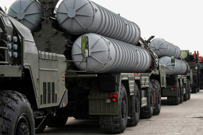 Россия развернула новый полк С-400