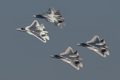В США пофантазировали о российских истребителях будущего