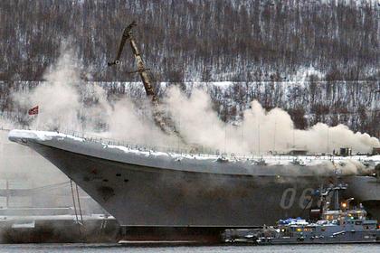 Названа предварительная сумма ущерба от пожара на российском авианосце