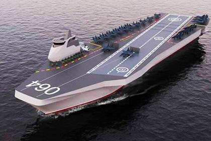 В России рассказали о «картинном» авианосце
