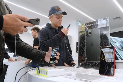 iPhone стал самым популярным смартфоном в России
