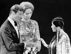Мария Круз на церемонии ''Оскар''