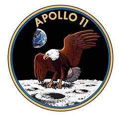 """Эмблема экспедиции """"Аполлон-11"""". Фото с сайта www.nasa.gov"""
