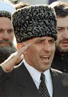 АСЛАН МАСХАДОВ. Фото Reuters