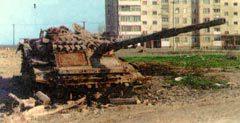 ПОСЛЕДСТВИЯ ШТУРМА ГРОЗНОГО. Фото с сайта Armor.kiev.ua