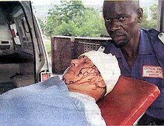 БЕЛЫЙ ФЕРМЕР В ЗИМБАБВЕ. Фото с сайта africancrisis.org