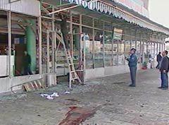 ПОСЛЕДСТВИЯ ТЕРАКТА В ТАШКЕНТЕ 29 МАРТА 2004 ГОДА, кадр НТВ