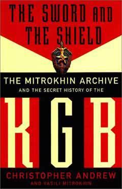Обложка книги Митрихина и Эндрю, иллюстрация с сайта www.amazon.com