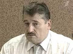 "Президент Чечни Алу Алханов. Кадр ""Первого канала"""