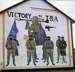 Граффити ИРА в Белфасте, фото с сайта www.varyag-stunts.narod.ru