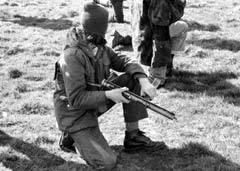 Подготовка боевиков ИРА, фото Имона Мело