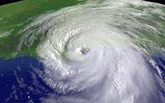 "Вид урагана ""Катрина"" из Космоса, фото Reuters"