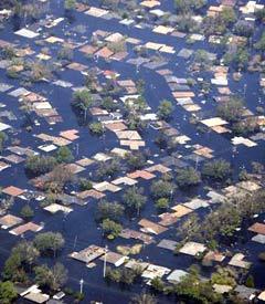 Вид на Новый Орлеан с самолета. Фото пресс-службы Белого дома