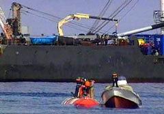"""Авария батискафа АС-28 стала """"соломинкой"""", которая сломала карьеру адмирала. Фото Reuters"""