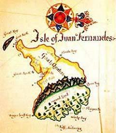 Остров Робинзона Крузо из архипелага Хуан Фернандес, фото с сайта endemica.com