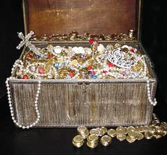 Сундук с сокровищами, фото с сайта tattooedsteve.com