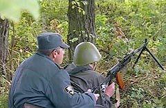 Сотрудники правоохранительных органов в Нальчике. Кадр НТВ