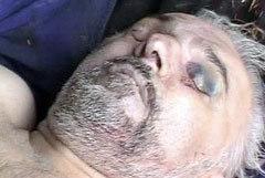 Убитый Аслан Масхадов. Фото Reuters