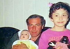 """Виталий Калоев с детьми. Кадр ТК """"Россия"""""""
