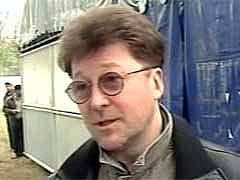 Александр Кутиков в Гудермесе 07.11.2005. Кадр НТВ