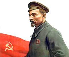 Феликс Дзержинский на советском плакатe с сайта mirposterov.ru