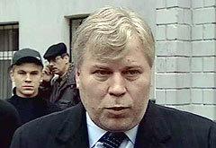 Адвокат Рохлиной Анатолий Кучерена, кадр телеканала НТВ