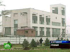 Комплекс правительственных зданий в Грозном. Кадр НТВ