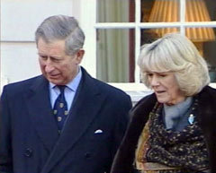 Принц Чарльз и Камилла Паркер-Боулз, кадр Первого канала