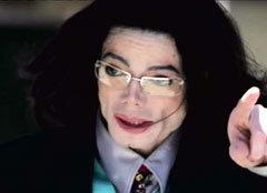 Майкл Джексон, кадр телеканала CNN