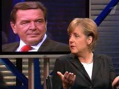 Ангела Меркель, кадр Первого канала