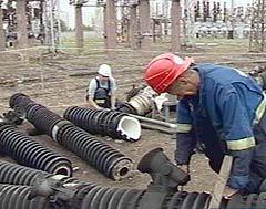 Авария в московских электросетях, кадр НТВ, архив