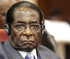 Роберт Мугабе, фото AFP