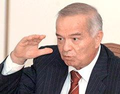Ислам Каримов, фото AFP