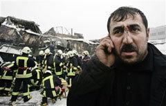 Пострадавший. Фото AFP