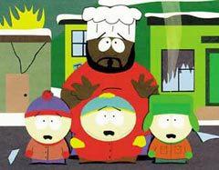Шеф, Стэн, Кайл и Эрик Картман, изображение сайта poster.net