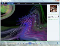 Скриншот Windows Media Player 11