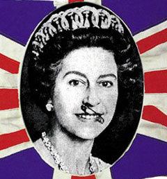 Елизавета II от Sex Pistols. Фото с сайта Rockpop gallery