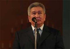 Премьер-министр Киргизии Феликс Кулов, фото Елены Скочило для Ленты.ру
