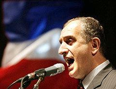 Предраг Булатович, председатель Социалистической народной партии Черногории, лидер блока за сохранение единства с Сербией. Фото AFP.