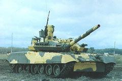 "Танк Т-80УМ1 ""Барс"". Фото с сайта armor.kiev.ua"