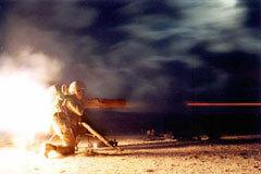 Пуск ПТУР TOW-2. Фото с сайта waronline.org