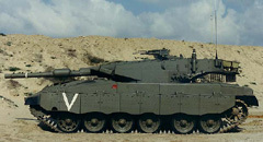 "Танк ""Меркава-3"" Фото с сайта armor.kiev.ua"