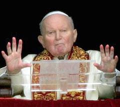 Папа Иоанн Павел II - единственный, в чьи чудеса Европа готова поверить, фото с сайта newsvine.com