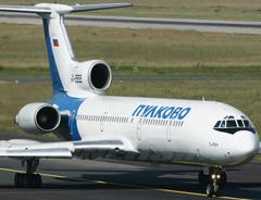 """Самолет Ту-154 """"Пулковских авиалиний"""". Фото с сайта airliners.net"""