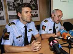 Пресс-конференция полиции Осло в связи с обнаружением картин. Фото AFP