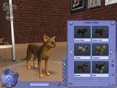 Редактор пород The Sims 2: Pets