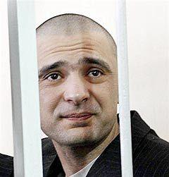 Максим Курочкин в зале суда, фото AFP