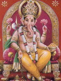 Ганеша, бог удачи и мудрости. Фото с сайта wikipedia.org