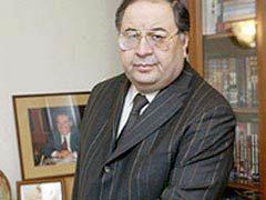 Алишер Усманов. Фото с сайта gazprominvestholding.com