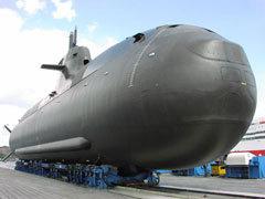 U-212 на стапеле. Фото с сайта aachen.de